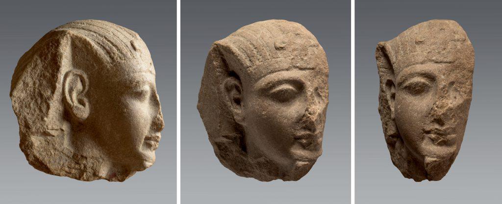 Turin, S. 2700. Quartzite. H. 25,5 ; l. 11,5 ; P. 24 cm. Héliopolis. Fouilles d'E. Schiaparelli (1903-1906). Photographies : Pino et Nicola Dell'Aquila/Museo Egizio.