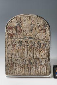Stele Turin CGT 50057. Photo: Nicola dell'Aquila/Museo Egizio.