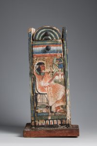 Shabti-box of Djehutyhotep (Turin Cat. 2443), front. H. 31.5 cm. Photo by Nicola Dell'Aquila/Museo Egizio.