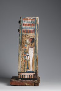 Shabti-box of Djehutyhotep, right side. Photo by Nicola Dell'Aquila/Museo Egizio.