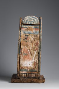 Shabti-box of Djehutyhotep, back. Photo by Nicola Dell'Aquila/Museo Egizio.