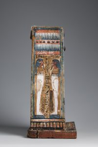 Shabti-box of Djehutyhotep, left side. Photo by Nicola Dell'Aquila/Museo Egizio.