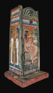 Shabti-box of Djehutyhotep, 3D model. By Vlad for Micropasts and Museo Egizio