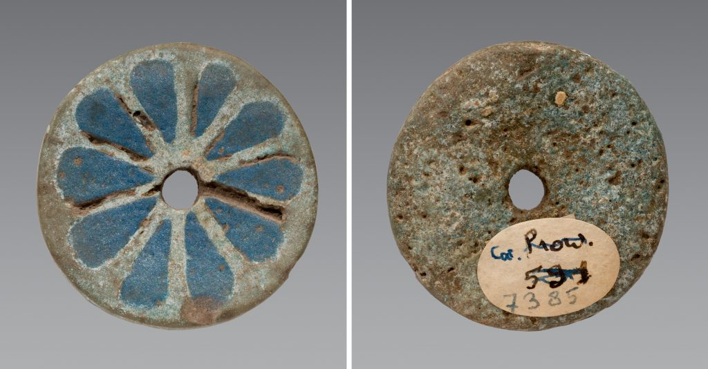 Rosette disc Turin, Museo Egizio, Cat. 7385. Photo by Virginia Webb.
