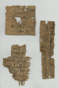 Undocumented Arabic fragments, CP 184, layer 10. Scan by Museo Egizio.