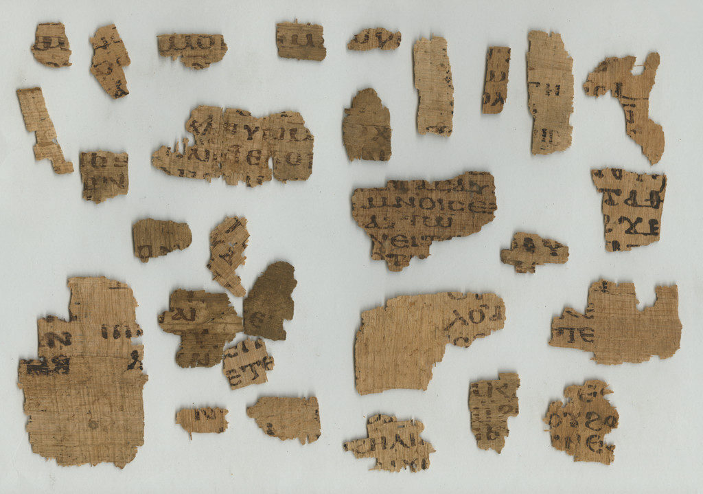 Undocumented Coptic fragments, CP 183, layer 2. Scan by Museo Egizio.
